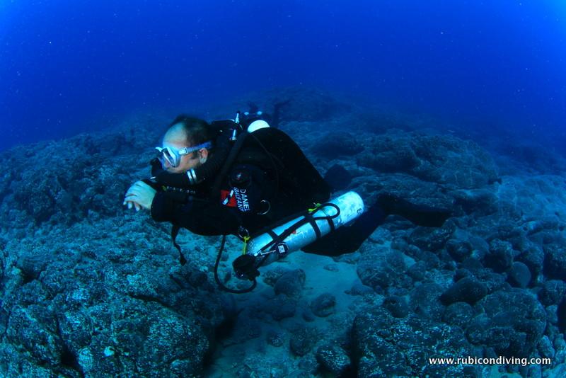 Buceo rebreather lanzarote